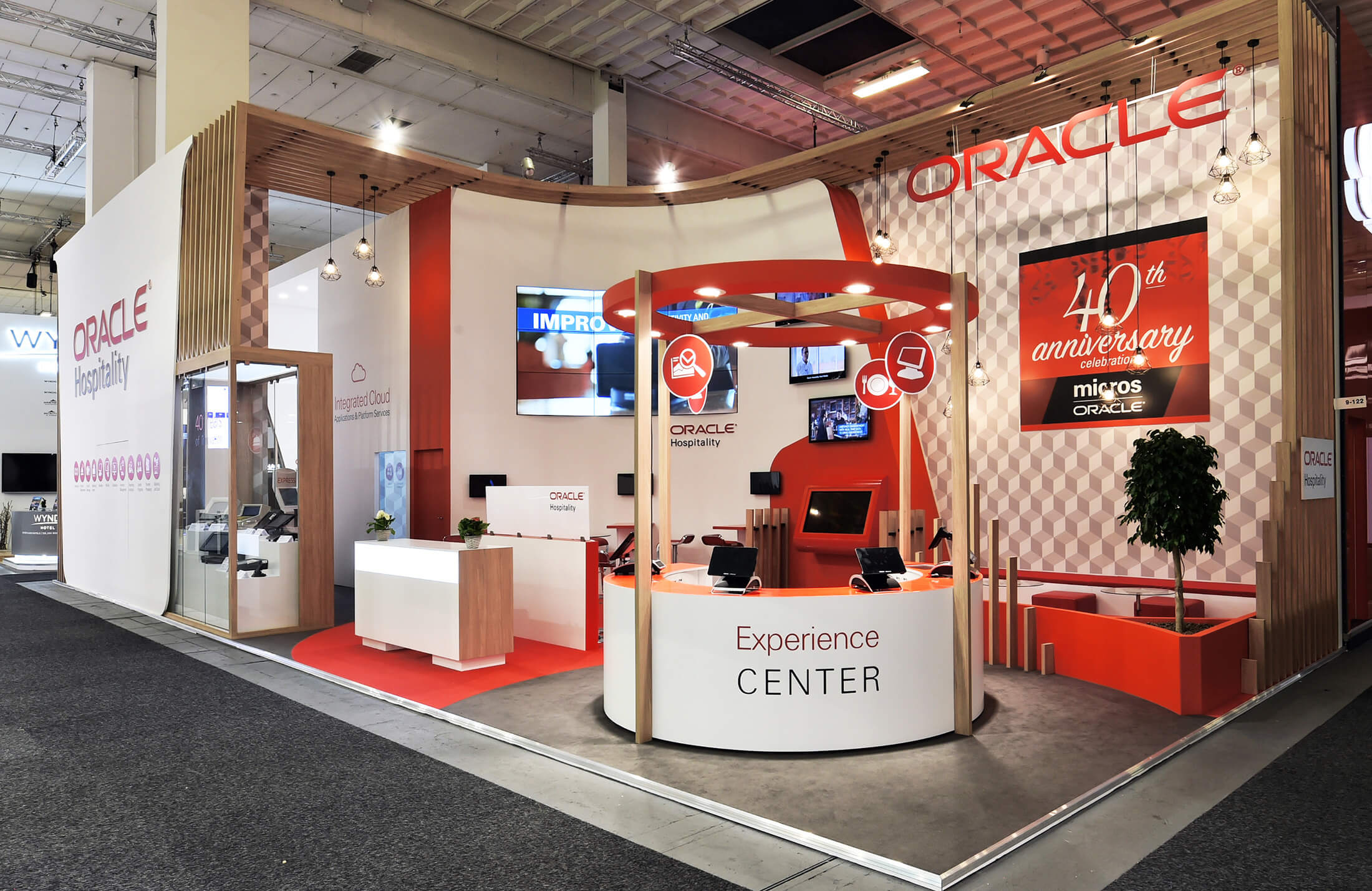 Oracle Exhibition Stand Design and Build