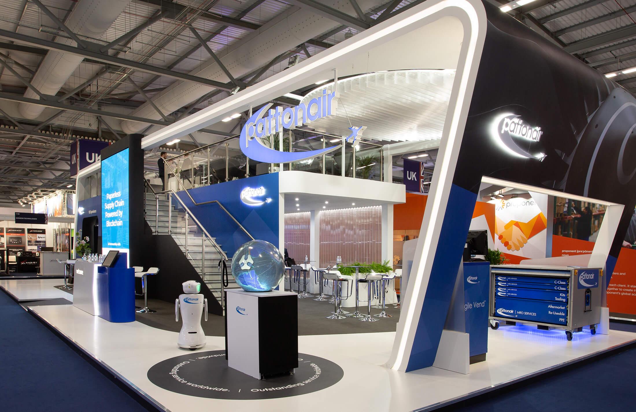 Pattonair Exhibition Stand Design