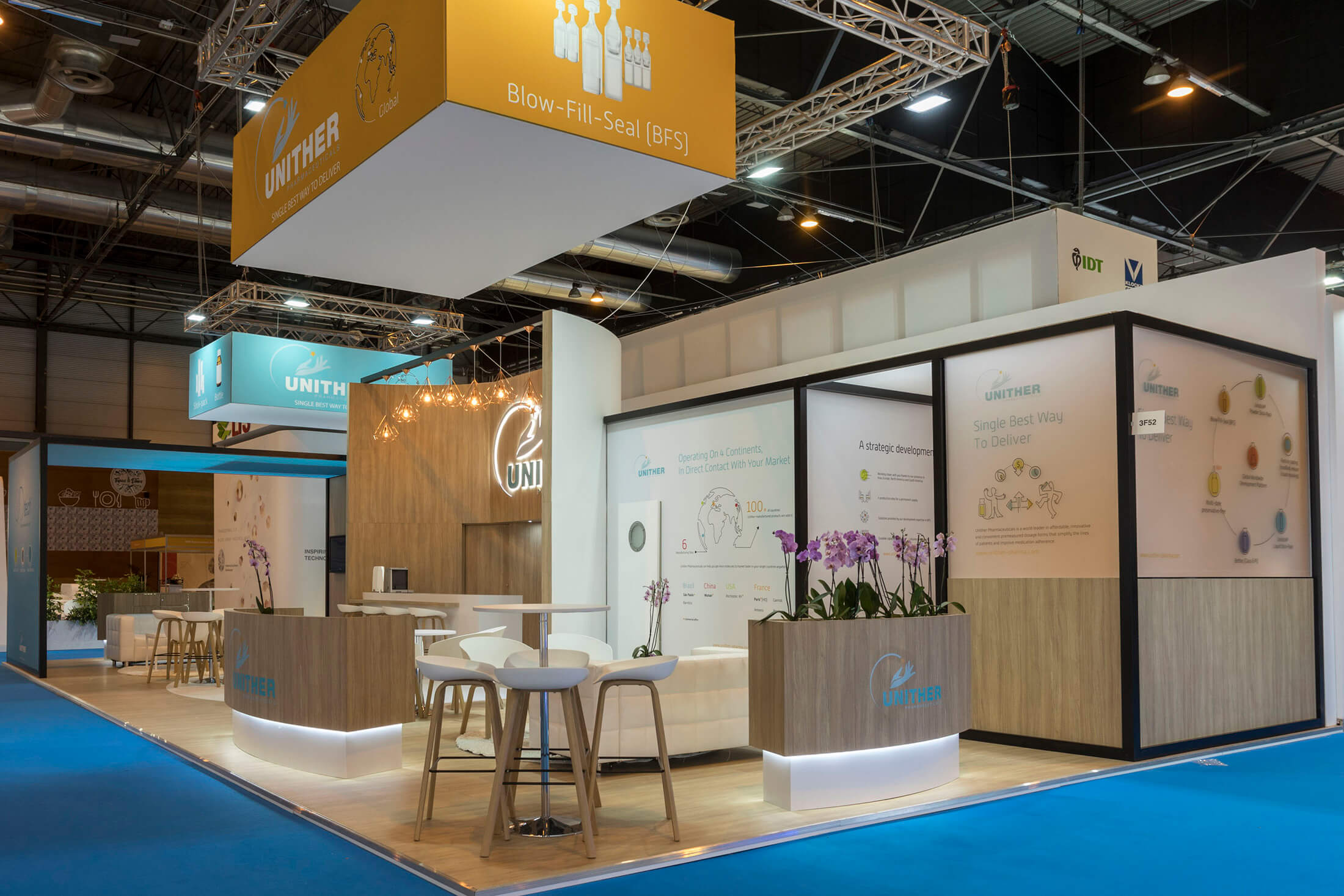 Unither Exhibition Stand Design