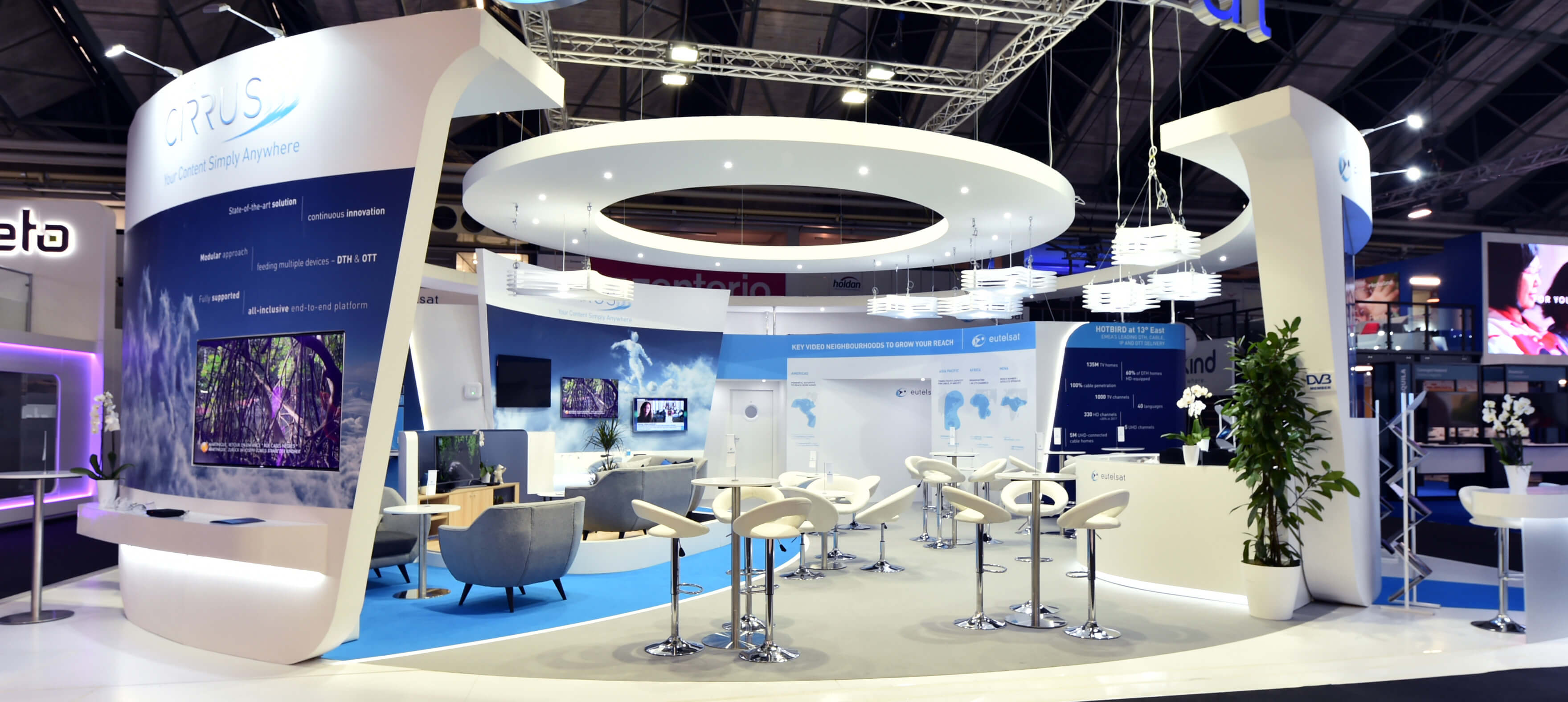 Eutelsat Exhibition Stand Design